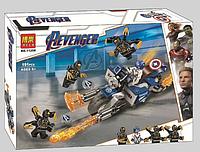 "Конструктор Bela 11258 ""Капитан Америка: Атака Аутрайдеров"" (аналог Lego Super Heroes 76123), 191 дет, фото 1"