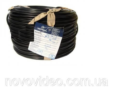 Бухта медного кабеля для видеонаблюдения КВК П-2+2х0,5 - 200 м
