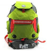 Рюкзак DC под ролики, цвет серый с зеленым ( код: IBH002SG )