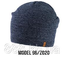 Шапка Ozzi caps № 96, шапка-колпак голубой/zo20