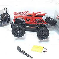 Радиоуправляемая игрушка джип Bigfoot Beast Cross Country TOP Красная Для детей