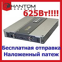 Звуковой автомобильный усилитель PHANTOM TSA 1.300 Для сабвуфера. одноканальный