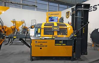 Процессор для производства дров  UNIFOREST TITAN 42/20 STANDARD с цепной пилой (Словения)