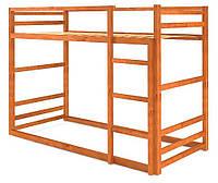 Кровать деревянная двухъярусная Барни 90х200 Mebigrand сосна яблоня