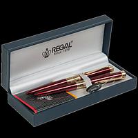 Комплект ручок (П+Р) в подарунковому футлярі, бордовий