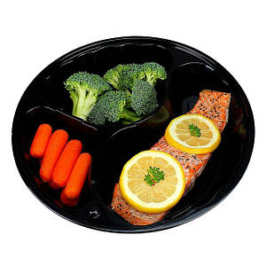 Пластиковая упаковка для еды на вынос и доставки