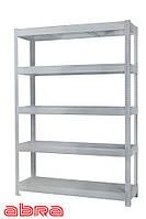 Стеллаж металлический для склада/магазина/гаража ЧК-300 1960х1440х460, покрашен.,5 полок ЛДСП, до 440 кг/полку