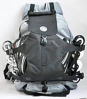 Рюкзак DC под ролики, серый с черным ( код: IBH002SB )