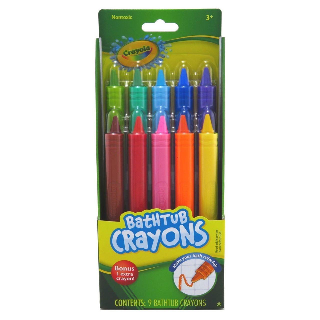 Карандаши для рисования в ванной Crayola