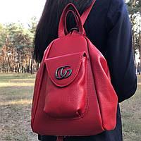 Кожаный рюкзак-сумка (701/1)