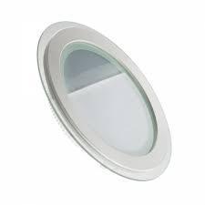 Светодиодный светильник круг 18W Glass Rim 4000K