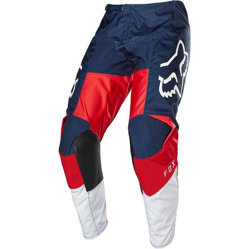 Мото штаны FOX 180 HONDA PANT [NAVY RED], 36