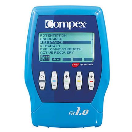 Электростимулятор - Compex Fit 1.0 Устройство для стимуляции мышц, фото 2