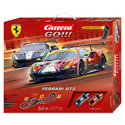 Детская игрушка автомобиль - Carrera GO!!! Ferrari GT3, фото 2