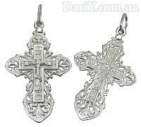 Срібний хрестик спаси і збережи 1029кр
