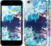 """Чехол на iPhone 6 Plus Цветной узор """"2830c-48"""""""