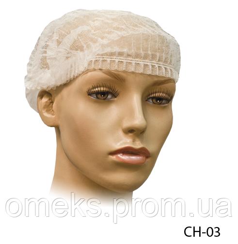 Косметологическая шапка для волос «Шарлотта» Lady Victory (100 шт. в упаковке розовая) LDV CH-03
