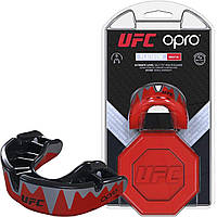 SALE - Капа OPRO Platinum UFC Hologram Red Metal/Black (art. 002261001)