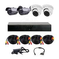 Комплект HD наблюдения из 4 камер CoVi Security HVK-3005 AHD PRO KIT