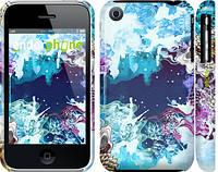 "Чехол на iPhone 3Gs Цветной узор ""2830c-34"""