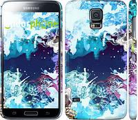 """Чехол на Samsung Galaxy S5 Duos SM G900FD Цветной узор """"2830c-62"""""""