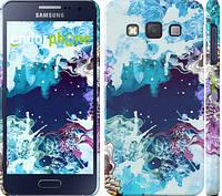 """Чехол на Samsung Galaxy A3 A300H Цветной узор """"2830c-72"""""""