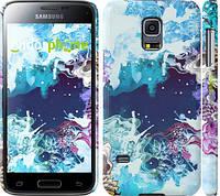 "Чехол на Samsung Galaxy S5 mini G800H Цветной узор ""2830c-44"""