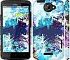 """Чехол на HTC One X+ Цветной узор """"2830c-69"""""""