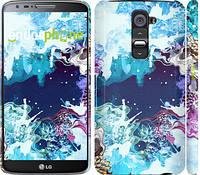 """Чехол на LG G2 Цветной узор """"2830c-37"""""""