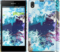 """Чехол на Sony Xperia Z1 C6902 Цветной узор """"2830c-38"""""""