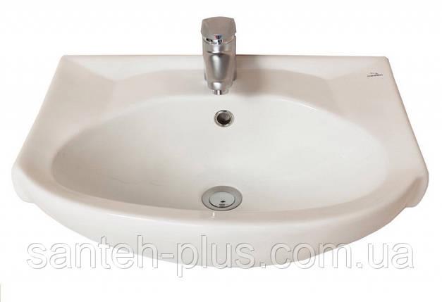 Тумба для ванной комнаты с выдвижным ящиком  Грация Т3 с умывальником Солос-56, фото 2