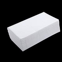 Рушники паперові целюлозні V-подібні, 160 шт, 2-х шарові, білі