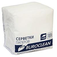 Серветки паперові, 240*240 мм, 400шт, в пп упаковці, білий