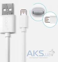 Кабель USB GOLF Super Speed Lighting Cable White