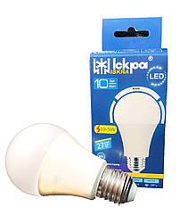 Лампа низковольтна LED  А60, 10Вт,  (10-50 V)  ПРИРОДНЬО БІЛИЙ, E27