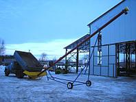 Транспортер перегрузчик зерна шнековый высотный, перегружатель шнековый