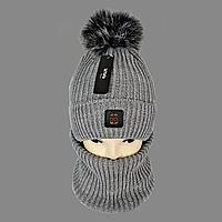 М 5009 Комплект шапка+баф для хлопчика, фото 1