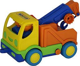 """Автомобиль-эвакуатор POLESIE """"Мой первый грузовик"""" (в сеточке), оранжевый (5458-2)"""