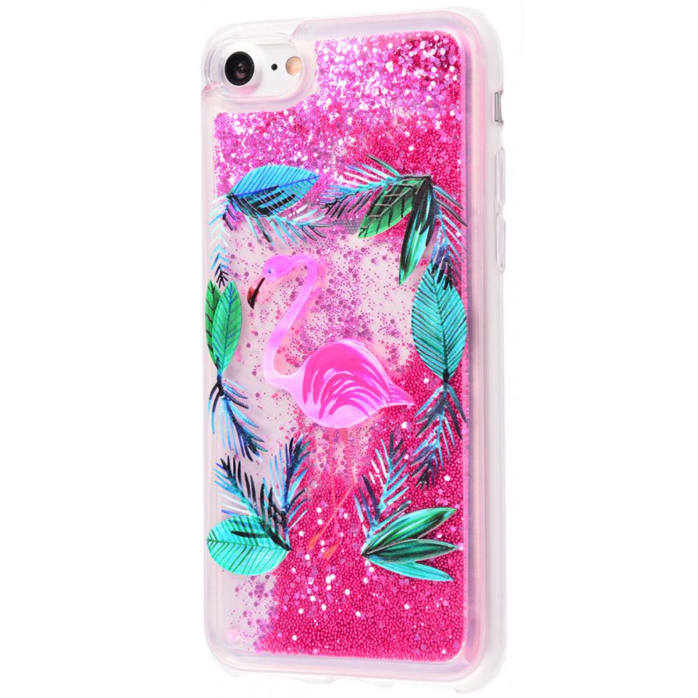 "Чехол-накладка Lovely Stream для Apple iPhone 7 / 8 (4.7"") Фламинго / Розовый"