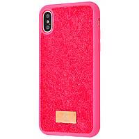 "Чехол-накладка Bling World Grainy Diamonds для Apple iPhone X / XS (5.8"") Розовый"