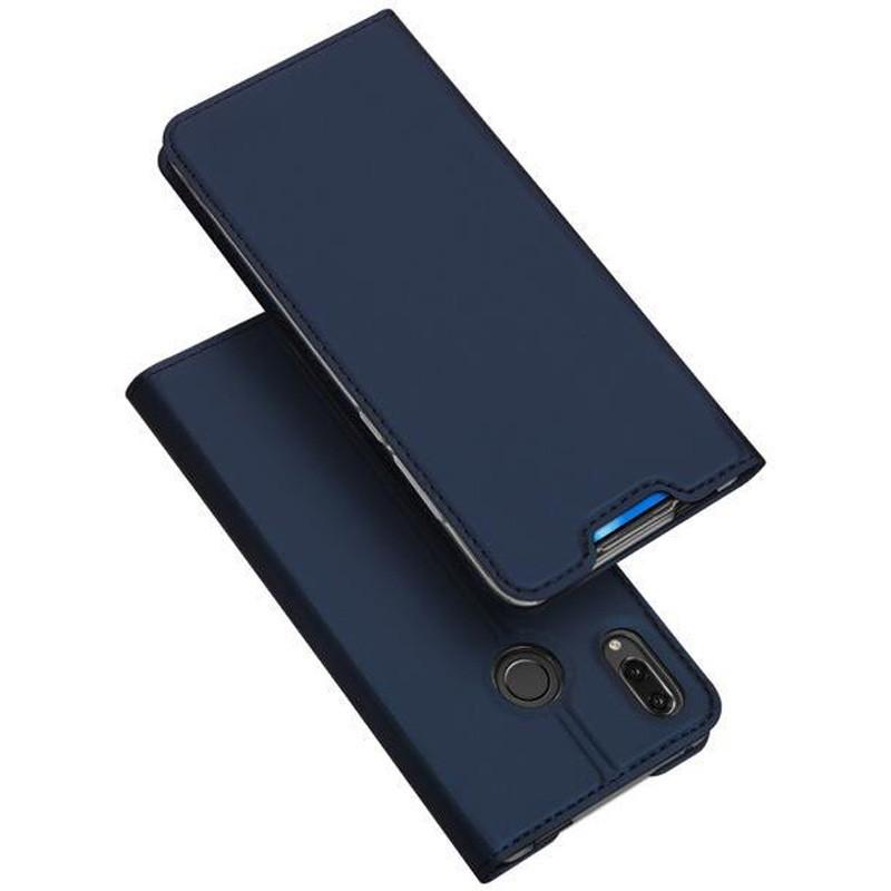 Чехол-книжка Dux Ducis с карманом для визиток для Huawei P Smart Z Синий