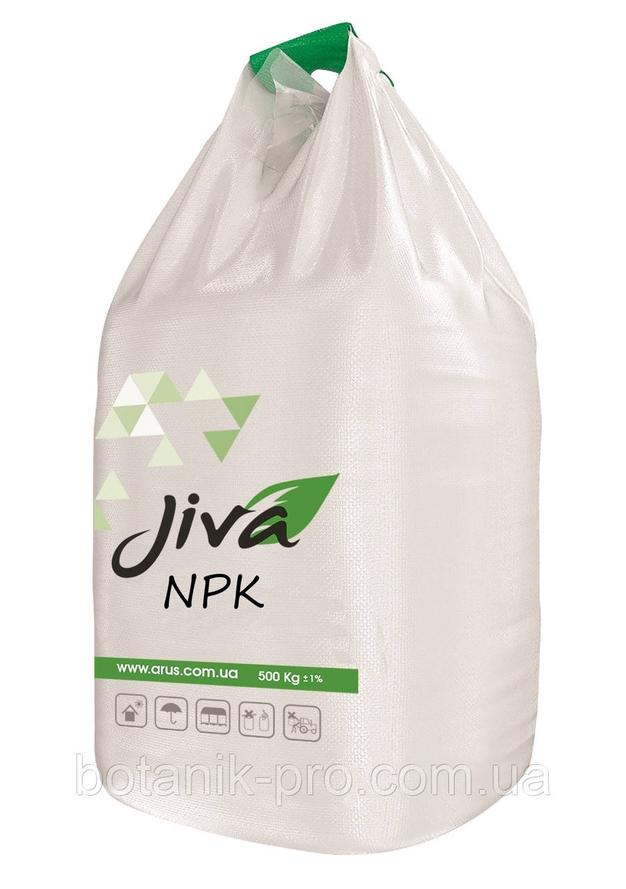 Комплексное минеральное удобрение JIVA NPK 10:25:20+20(SO3)+1Zn