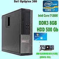 Системный блок Dell Optiplex 390 Intel® Core™ i7-2600  \ DDR3 8Gb \ HDD 500 Gb (k.9118), фото 1