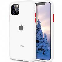 """Чехол-накладка LikGus Maxshield для Apple iPhone 11 Pro Max (6.5"""") Прозрачный"""