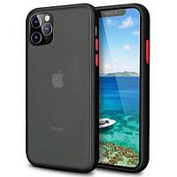 "Чехол-накладка LikGus Maxshield для Apple iPhone 11 Pro (5.8"") Черный"
