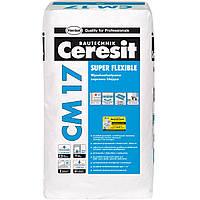 Ceresit СМ 17, церезит купить, клей для плитки, каминов, печей и теплых полов 25 кг