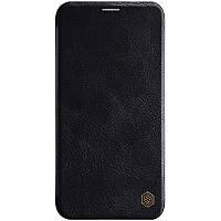 """Кожаный чехол (книжка) Nillkin Qin Series для Apple iPhone 11 Pro (5.8"""") Черный"""
