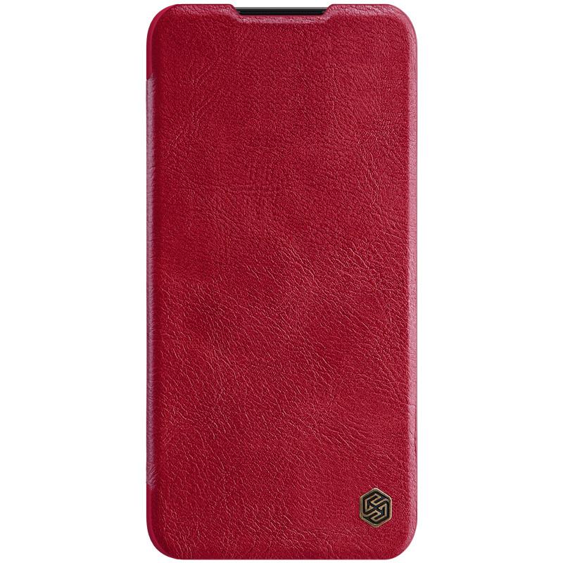 Кожаный чехол (книжка) Nillkin Qin Series для Xiaomi Mi CC9 / Mi 9 Lite Красный