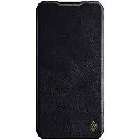 Кожаный чехол (книжка) Nillkin Qin Series для Xiaomi Mi CC9 / Mi 9 Lite Черный