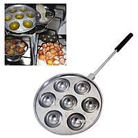 Форма для приготовления творожных, сырных шариков / пончиков (Такоячница) на 7 штук